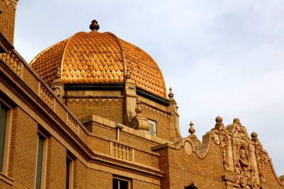 "Garfield Park Fieldhouse, the ""Gold Dome Building"""