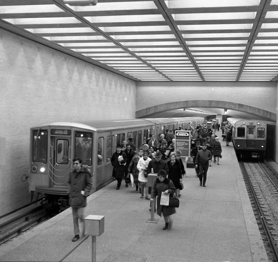 2200 series at Belmont 1970