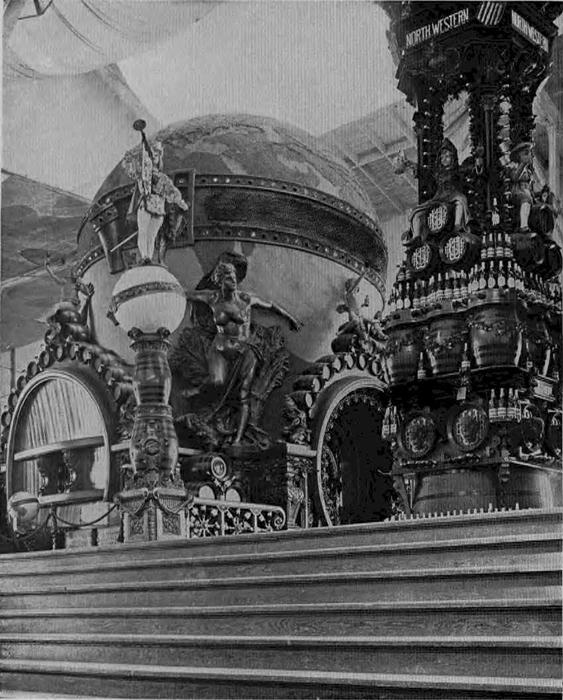 Schlitz Globe 1893 Chicago World's Fair