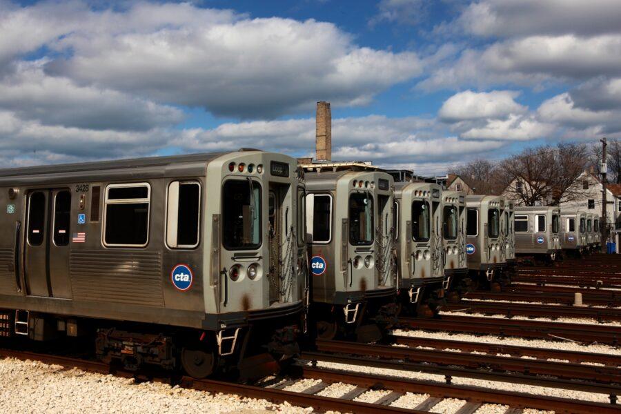 Kimball Brown Line CTA stop