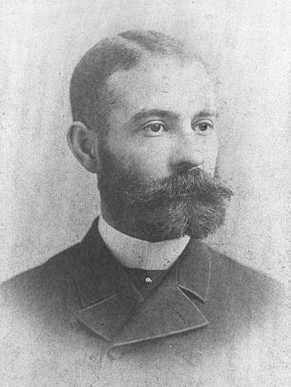 Dr. Williams as a young man