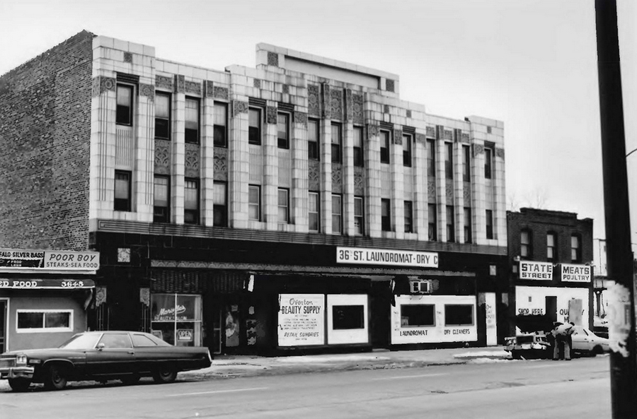 ca. 1986 photo of Chicago Bee building. Image courtesy of National Park Service