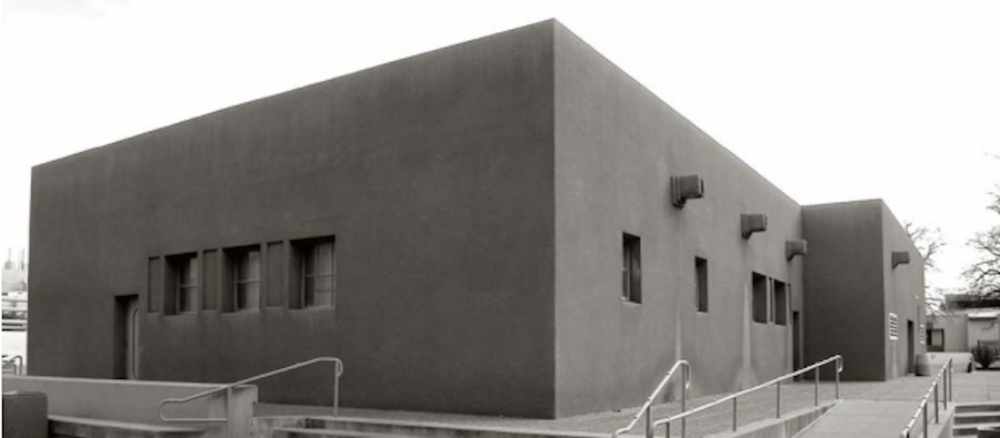 University of New Mexico Chemistry Building, project initiated by Walter Burley Griffin and design executed by Barry Byrne, Albuquerque, New Mexico, 1915-1916. Source: University of New Mexico Heritage Preservation Plan, 2006, photo by Cynthia Martin.