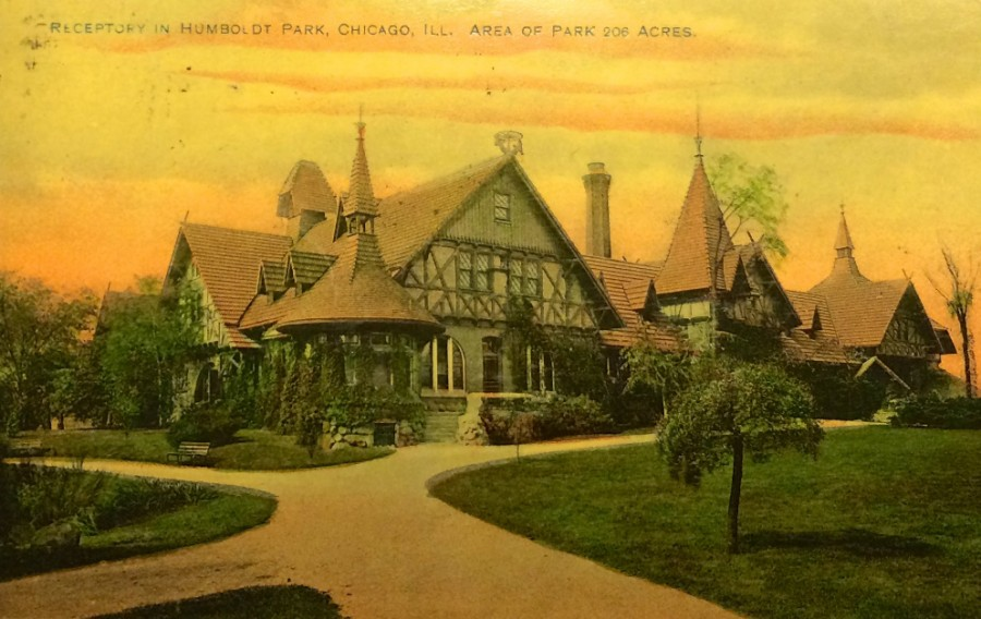 Receptory Postcard front