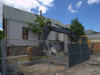 Under Demolition: 2821 North Avers Avenue