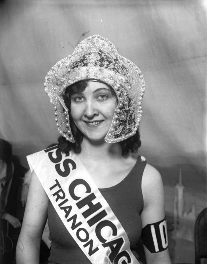 1926 Miss Chicago at Trianon Ballroom, courtesy of and copyright Chicago Tribune