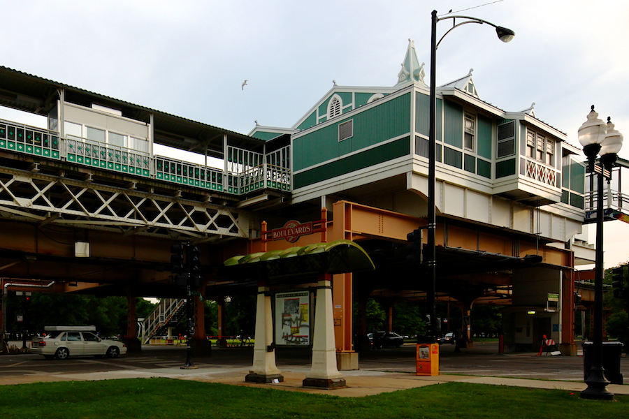 Green Line, Conservatory Central Park Drive