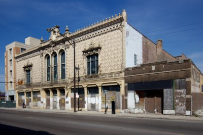 Awaiting a New Tenant: Pioneer Arcade at North and Pulaski