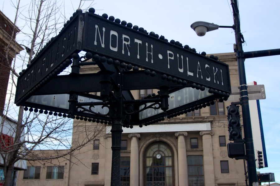 North and Pulaski. John Morris/Chicago Patterns