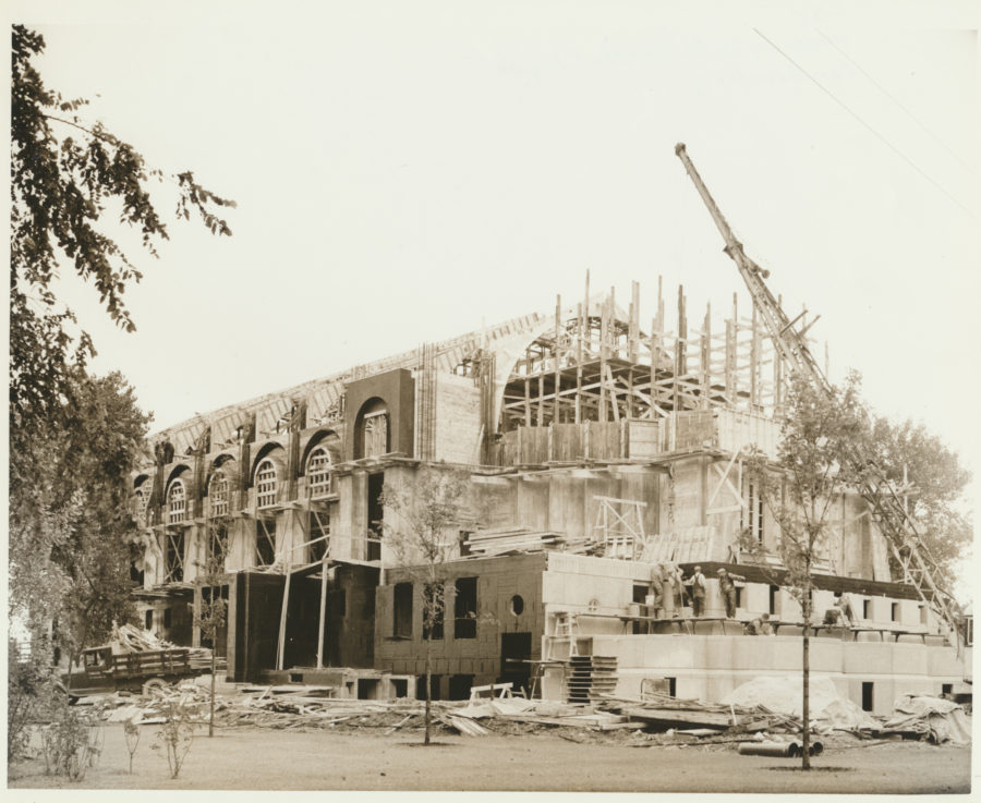 Construction of Madonna della Strada Chapel