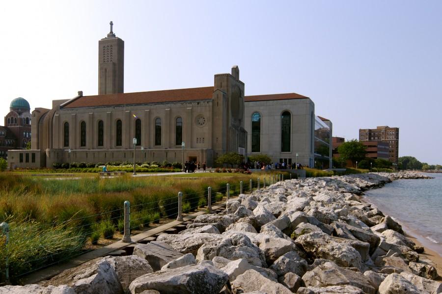 Madonna Della Strada Chapel at Loyola