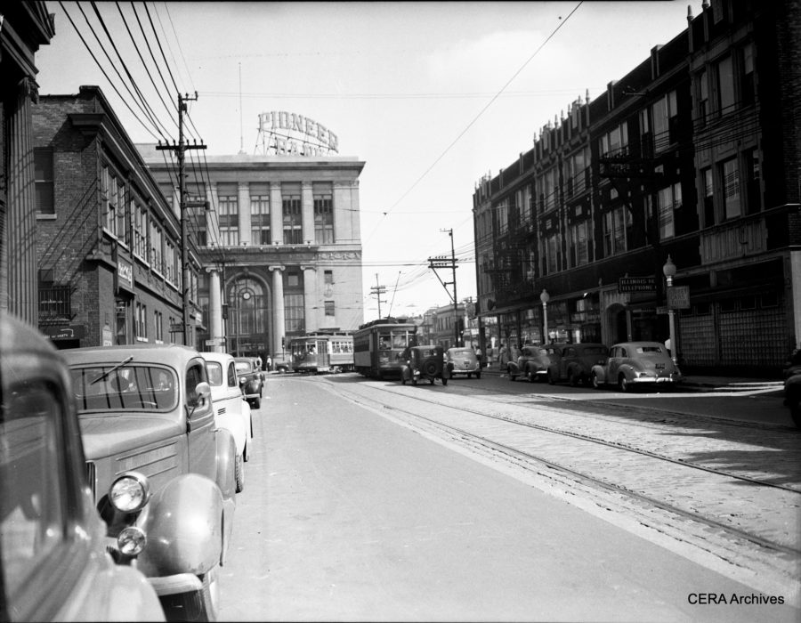 North and Pulaski, courtesy of Central Electric Railfans' Association