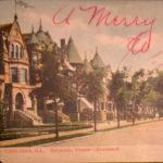 Driveway, Drexel Boulevard (A Merry Xmas to You)