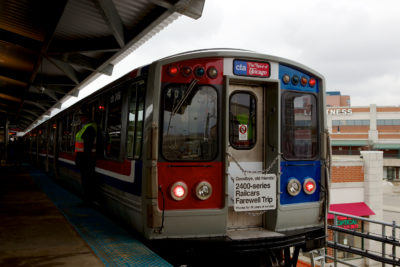 Saying Farewell to the CTA's 2400-Series Railcars
