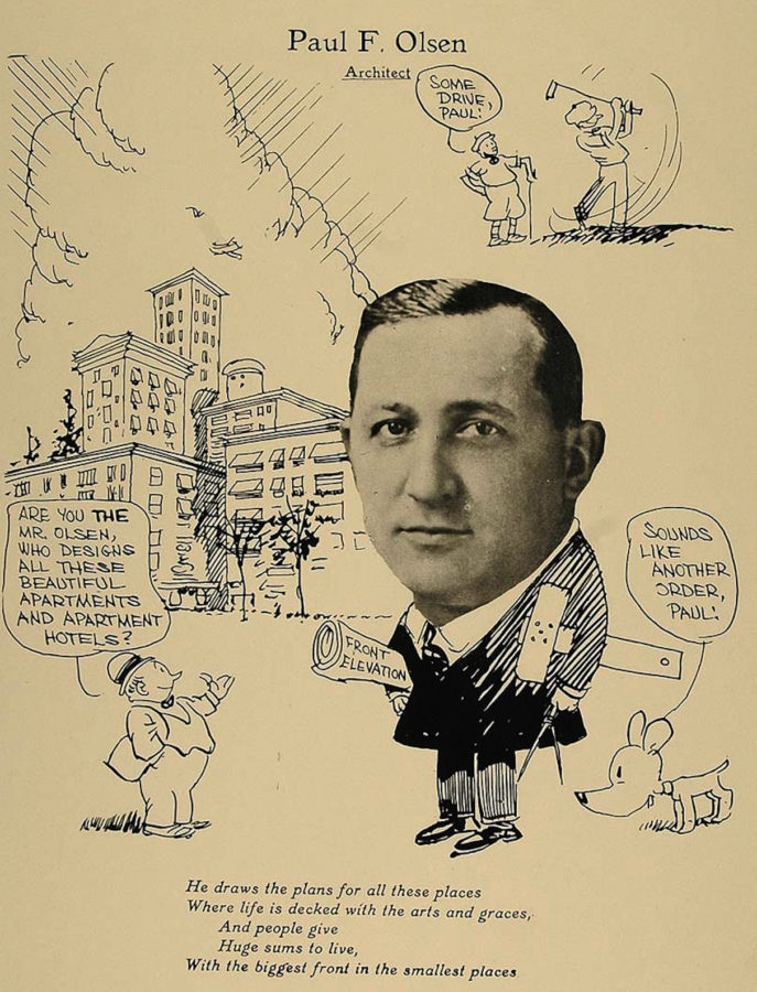 1926 Paul Frederick Olsen cartoon, via Period Paper