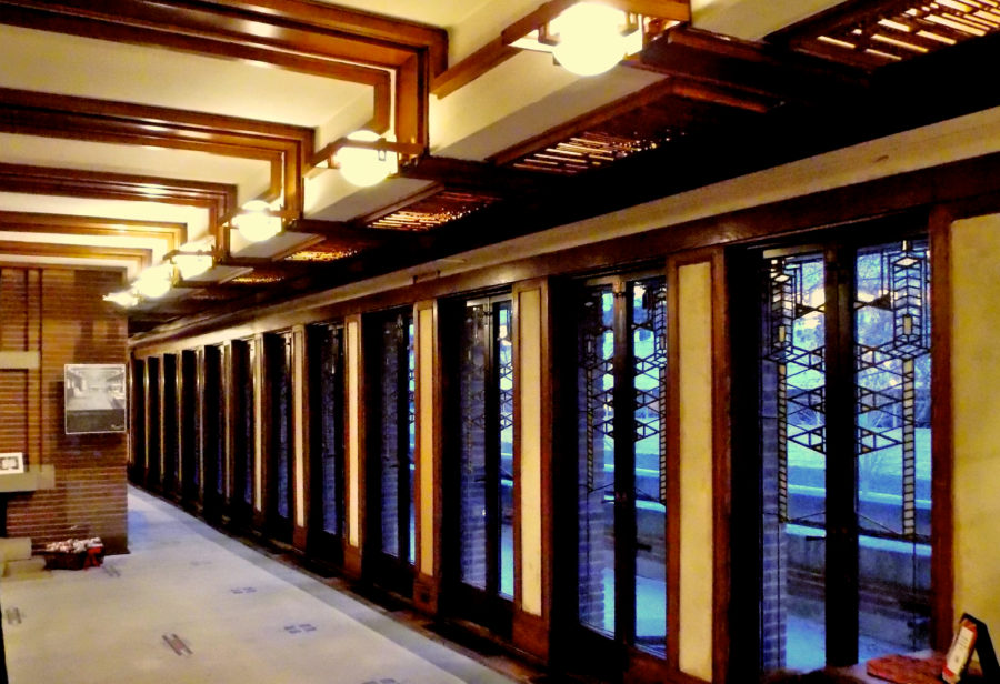 Robie House Masterpiece Of Gl And Light Chicago Patterns