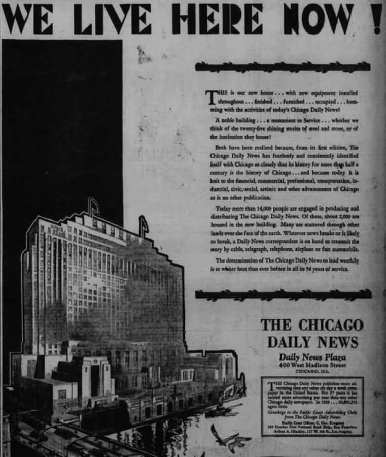 Advert from June 1929 Oakland Tribune