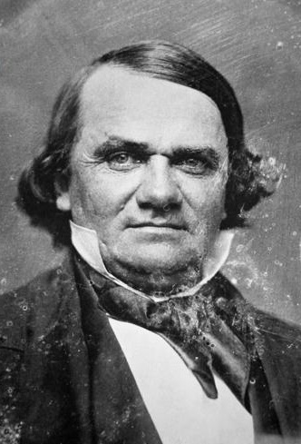 Public domain image of Stephen Douglas, via Wikipedia