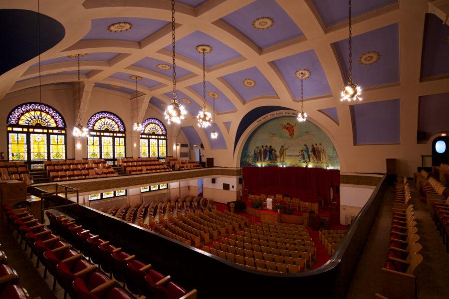 Ebenezer Baptist Interior