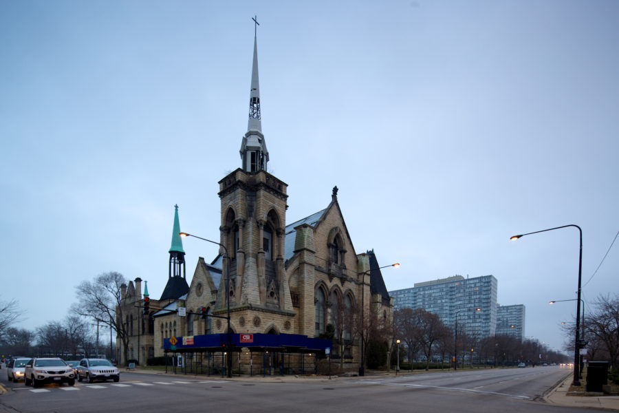 Olivet Baptist Church has been at 31st and King Drive since 1907. John Morris/Chicago Patterns