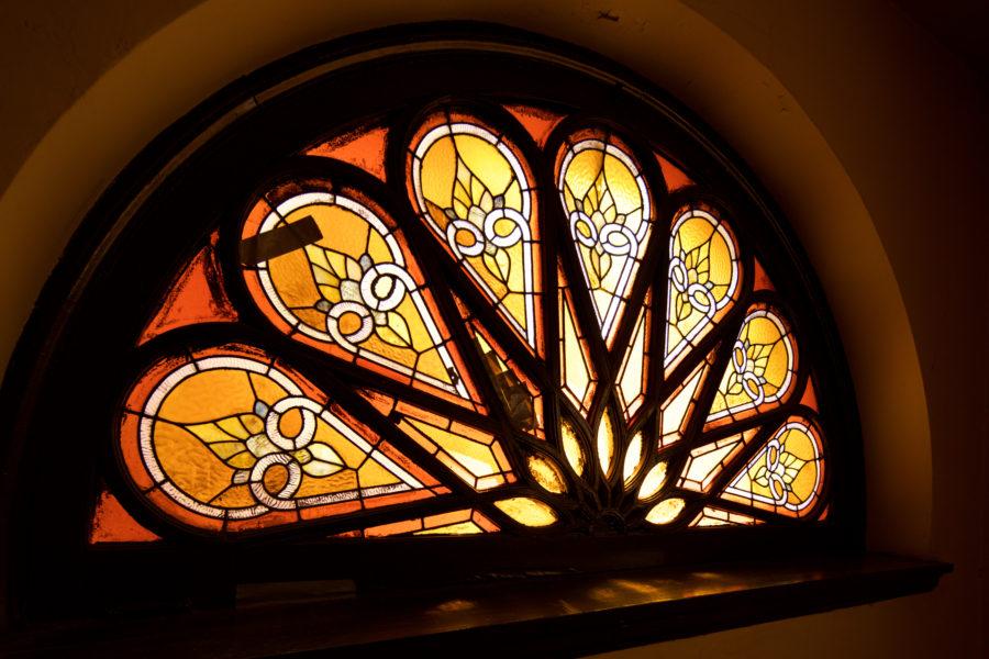 Window sunburst detail