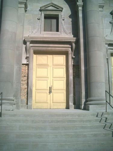 Work underway on St. Gelasius in 2005. [Eric Allix Rogers/Chicago Patterns]