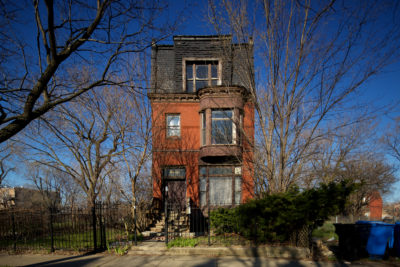 Lone Row House on Ellis Avenue